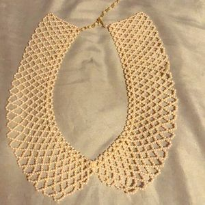 Vintage Pearl Collar Necklace